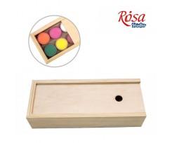 Пенал для гуаші дерев'яний ROSA 24,3*9,5*5,3см., (GPТ50083142)