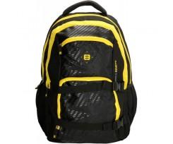 Рюкзак для ноутбука Enrico Benetti Natal 32x46x24 см 35 л Black-Yellow (Eb47105 761)