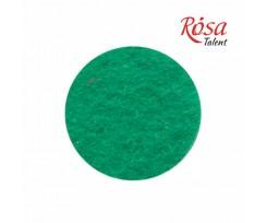 Фетр листковий ROSA TALENT 215х280 мм поліестер Зелений світлий 180 г/м2 (165FW-H018)