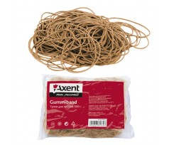 Гумки для грошей Axent 1000 г 60 мм натуральні (4633-a)