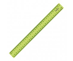 Лінійка Axent Delta пластикова 30 см жовта (d9800-01)