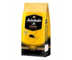 Кава в зернах Ambassador Crema, пакет 1000 г, (am.52081)