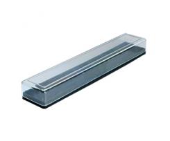 Футляр Arnika подарунковий для ручок, пластик, прозорий (87032)