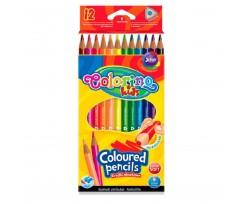 Набір акварельних олівців Colorino 12шт 2мм (33039PTR)