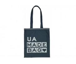 Екосумка-шопер Maxi UA Bag 27х32 см синя (MX86275)