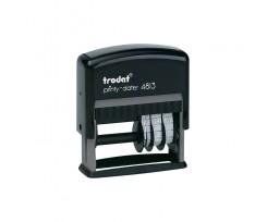 Датер Trodat Рrinty з вільним полем 26х9 мм шрифт 3.8 мм пластиковий чорний (4813)