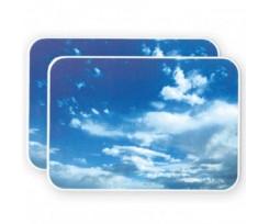 Килимок для миші Panta Plast 157х227мм., PVC, блакитний (0318-0018-99)