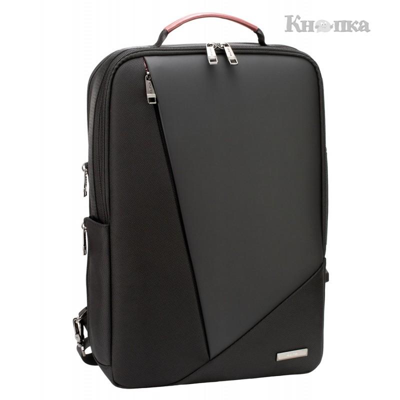 Рюкзак-сумка Optima 45x30x12.5 см 16-25 л чорний (61-02311)