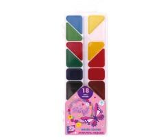 Акварель медова Cool For School Butterfly, 18 кольорів, без пензлика, асорті (CF60141)