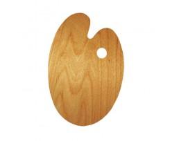 Палітра дерев'яна ROSA Gallery 25х35см., овальна  (94164102)