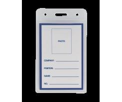 Ідентифікатор вертикальний, 65х109мм, PVC (BM.5403)