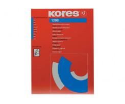 Папір копіювальний А4 Kores 1200, 100 арк., синій (K78478)