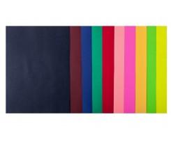 Набір кольорового паперу Buromax Dark+Neon А4 10 кольорів 50 аркушів (BM.2721050-99)