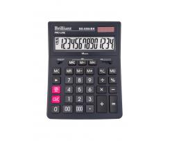 Калькулятор Brilliant 14 розрядів чорний (BS-8884BK)