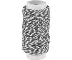 Декоративна нитка Knorr Prandell подвійна Чорна 20м (2162660019)