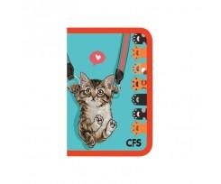 Папка Cool For School Cute на блискавці асорті (CF32019)