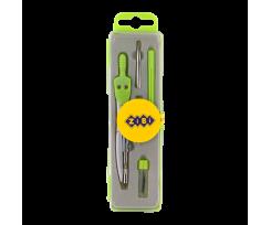 Готовальня Zibi Basis 5 предметів зелений (ZB.5304BS-04)