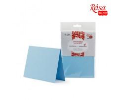 Набір заготовок для листівок ROSA TALENT 5 шт 103х70 мм №5 блакитний 220 г/м2 (94099004)