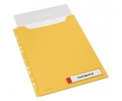 Файл Leitz Cosy А4 150 аркушів 3 штуки жовтий (4668-00-19)