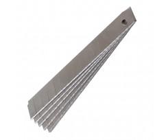 Леза для канцелярських ножів Delta 10шт 9 мм (d6523)