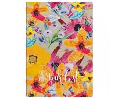 Щоденник Brunnen Агенда Flex Best 14.5x20.6 см 320 аркушів жовтий (73-796 38 921)
