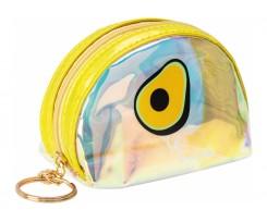 Брелок-гаманець Cool For School Екзотік 11x15x4 см прозорий (CF86907)