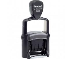 Датер Trodat Professional Line шрифт 4 мм металевий чорний (5030 P 4.0)
