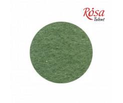 Фетр листковий ROSA TALENT 215х280 мм поліестер Зелений травяний 180 г/м2 (165FW-H020)