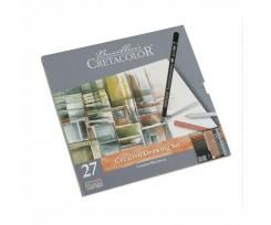 """Набір олівців для рисунку Cretacolor """"Creativo"""", 27шт., (90740031)"""