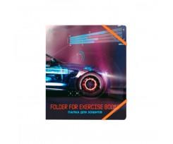 Папка Cool For School Super Car В5 на гумках асорті (CF32002-02)