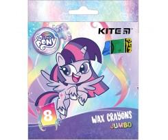 Крейда Kite Jumbo My Little Pony 8 штук асорті (LP21-076)
