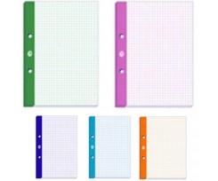 Блок змінний для сегрегатора Interdruk, А4, 50 аркушів, 5 кольорів, клітинка, кольорові поля(186874)