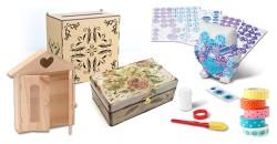 Інструменти та допоміжні матеріали для декору
