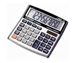 Калькулятор Citizen, бухгалтерський з корекцією, 10 розрядний (CT-500VII)