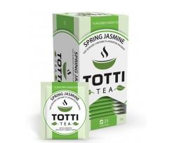 Чай зелений TOTTI Tea «Весняний жасмин», пакетований, 2 г, 25 шт (tt.51500)