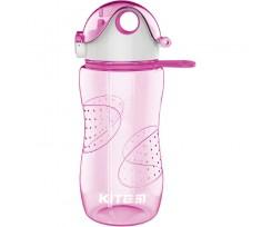 Пляшечка для води Kite пластикова, 560 мл, рожевий (k18-402-02)
