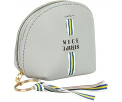Брелок-гаманець Cool For School Nice Stripe з аплікацією (CF86940)
