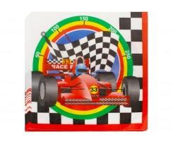 Набір двошарових серветок Maxi Racing 33х33 см 20 штук асорті (MX44673)
