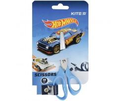 Ножиці дитячі Kite Hot Wheels 13 см блакитні (HW21-122)