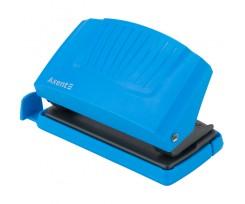 Діркопробивач Axent Shell до 10 аркушів пластиковий блакитний (3410-07-A)