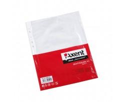 Файл Axent А4+, глянцевий, 40мкм, 100 штук (2004-00-a)