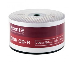 Диск CD-R Axent 700 MB 80 min 52X 50 штук (8102-A)