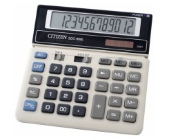 Калькулятор Citizen, бухгалтерський, 12 розрядний (SDC-868L)