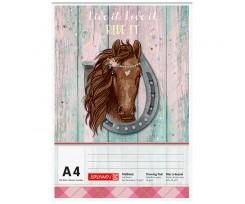 Альбом для малювання Brunnen Ponylove А4 100 аркушів аркушів (10 474 07 742)