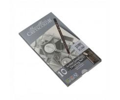 Набір графітних олівців Cretacolor 10шт 2,8мм (90540021)
