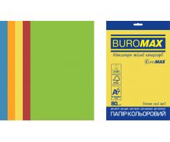 Набір кольорового паперу Buromax Intensive А4 250 аркушів асорті (BM.27213250E-99)