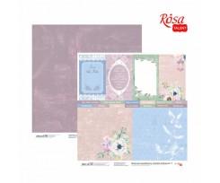 Папір для скрапбукінгу ROSA TALENT Emotion & Romance 7 двостороння 308х308 мм 200 г/м2 (5316058)