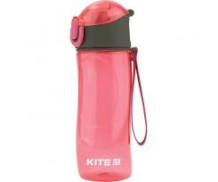 Пляшечка для води Kite пластикова, 530 мл, рожевий (k18-400-02)