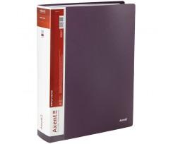 Дисплей книга Axent з 100 файлів A4 поліпропілен сливова (1200-11-A)