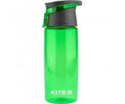 Пляшечка для води Kite пластикова, 550 мл, зелена (k19-401-06)